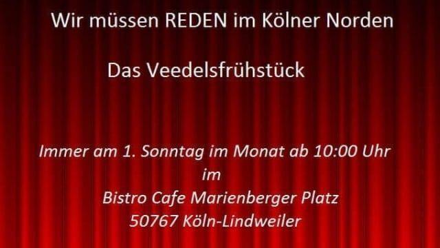 5.1.2020, 10:00 Uhr – Wir müssen REDEN im Kölner Norden – Das Veedelsfrühstück
